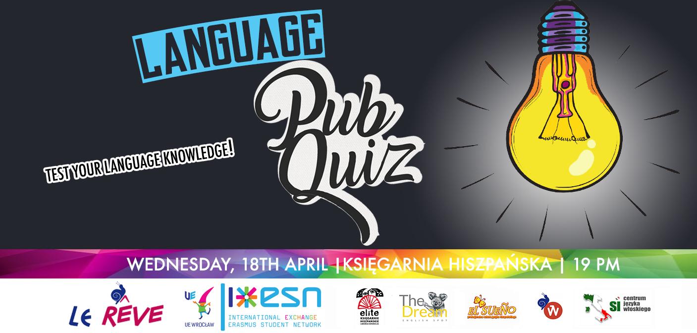 Language Pub Quiz