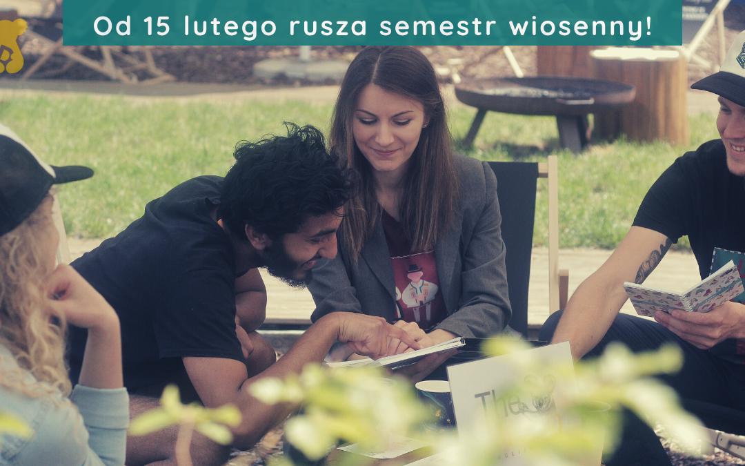Trwają zapisy na semestr wiosenny, który rusza 15 lutego!